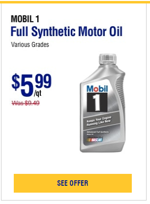 Napa Mobil 1 Full Synthetic