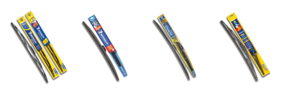 Michelin Launches 5 New Wiper Blades